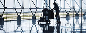 Large Facility Cleaning Service at Chicago O'Hare Airport
